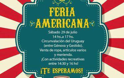 Feria Americana en Sede de la Costa