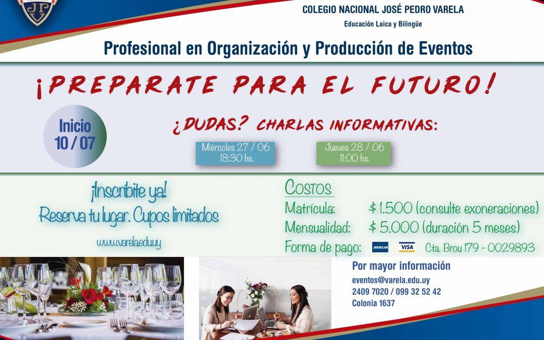 Profesional en Organización y Producción de Eventos