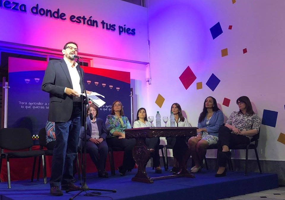 Juan Pedro Mir asume la dirección de Inicial y Primaria del Colegio José Pedro Varela