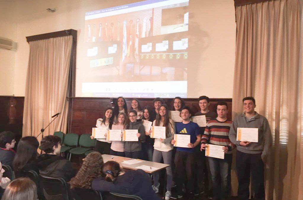 Entrega de Diplomas de Portugués