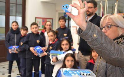 Muestra de robótica en el Colegio