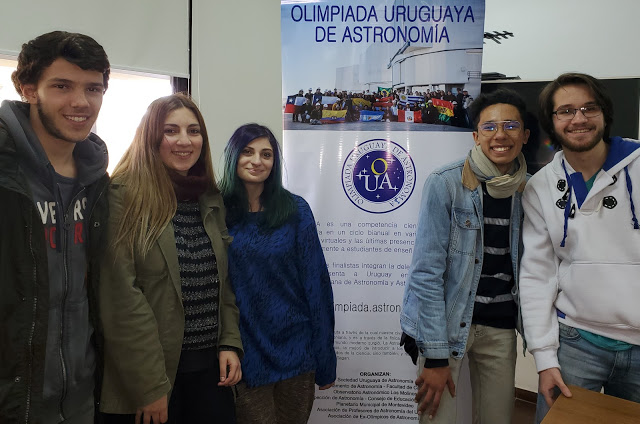 Delegación para la Olimpíada de Astronomía y Astronáutica