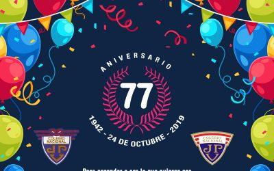 1942 – 24 de octubre – 2019