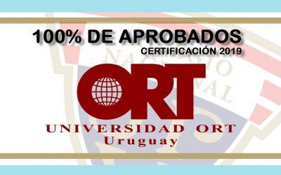 100% de aprobación exámenes Universidad ORT