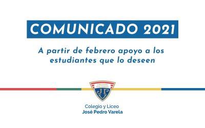 Febrero 2021, tiempo de reencuentro, preparación y aceleración pedagógica