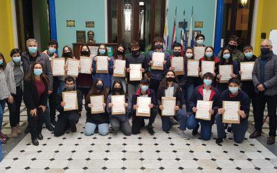 Entrega de diplomas de FIRST CERTIFICATE
